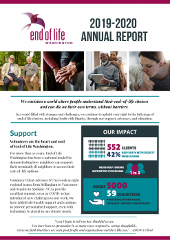 Image of page one annual report